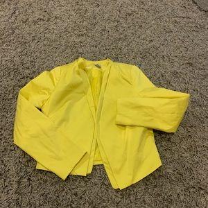 Worthington yellow blazer